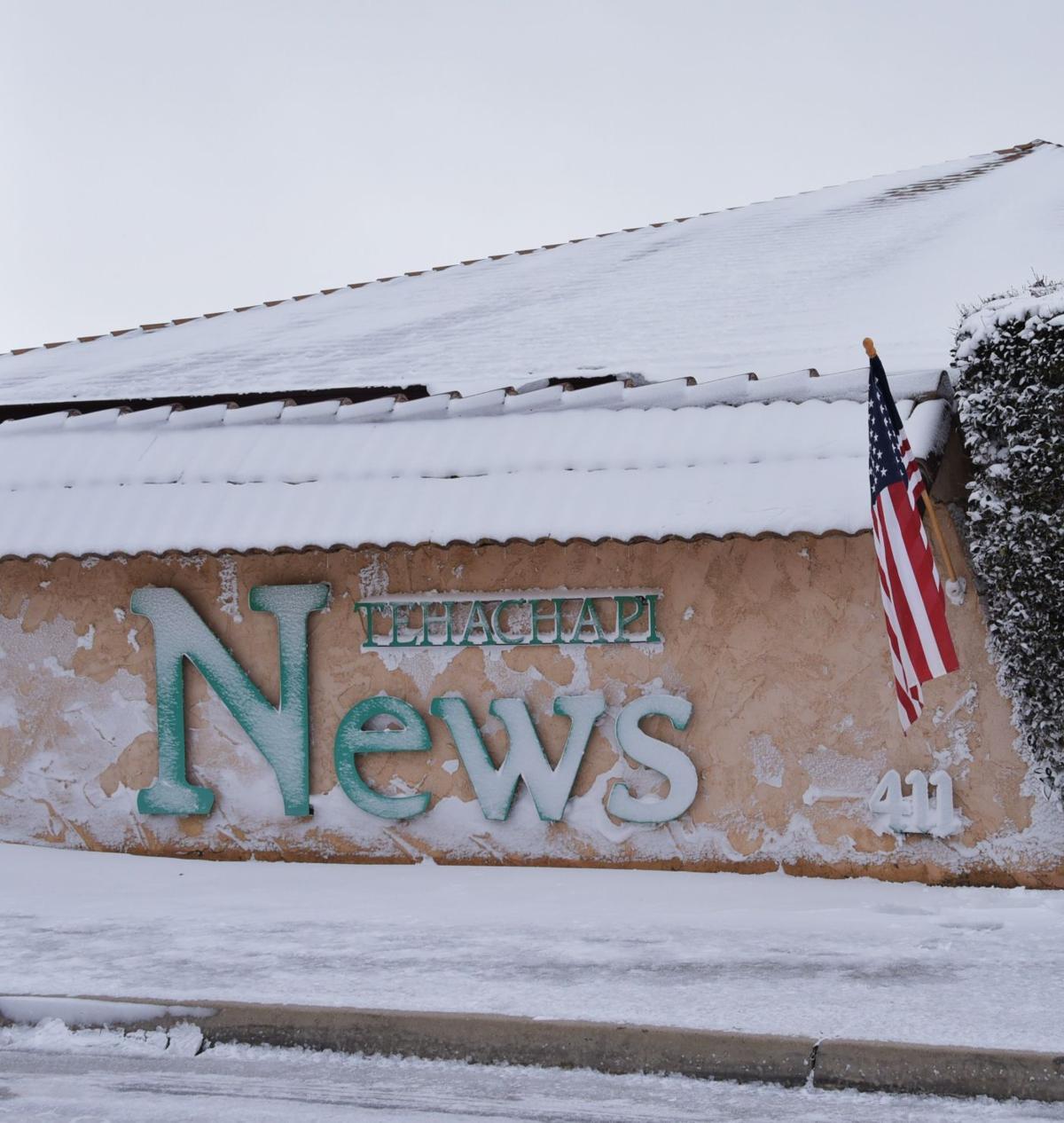 Tehachapi News office