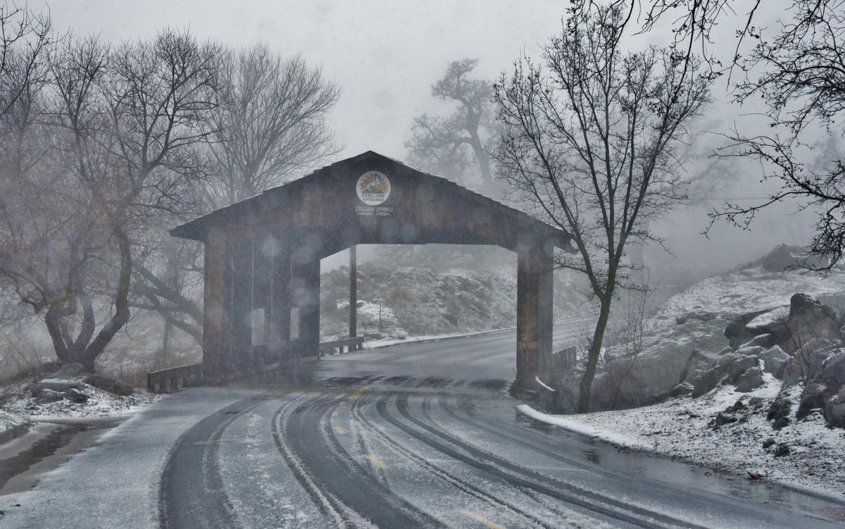 PHOTO GALLERY: Greater Tehachapi's draped in snow