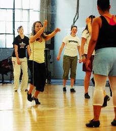 Dancing boosts health, relieves stress