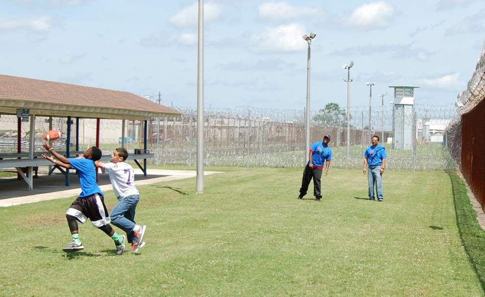 Angola inmates get day with kids in 'Returning Hearts' program _lowres