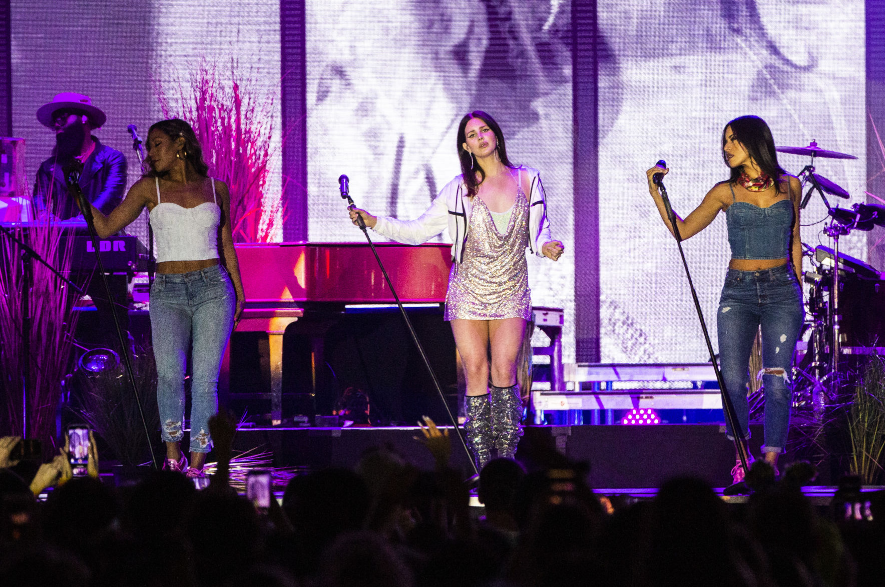 Lana Del Rey shimmered, Kevin Gates swore on 2019 Buku fest's opening night