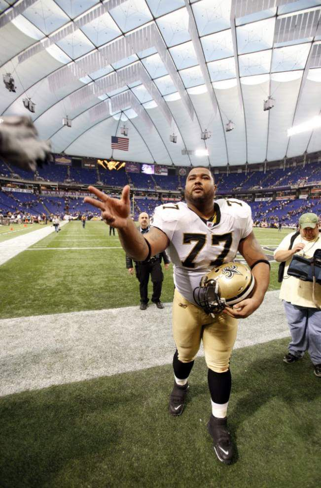 Saints Mount Rushmore Plus One Series: The Offensive Linemen _lowres