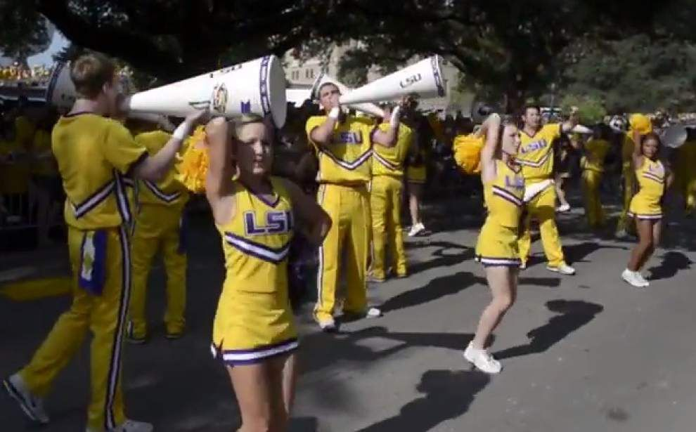 Sights and Sounds from the LSU-Mississippi State game _lowres