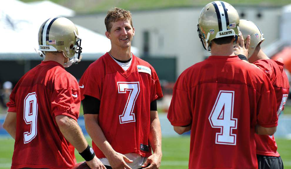 Will his commercial come true? With Drew Brees possibly sidelined, Saints backup quarterback Luke McCown could get his chance _lowres