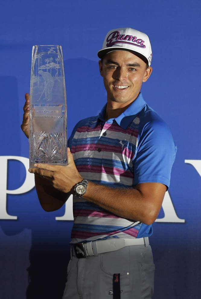 Rickie Fowler survives playoff, sudden death to score The Players Championship title _lowres