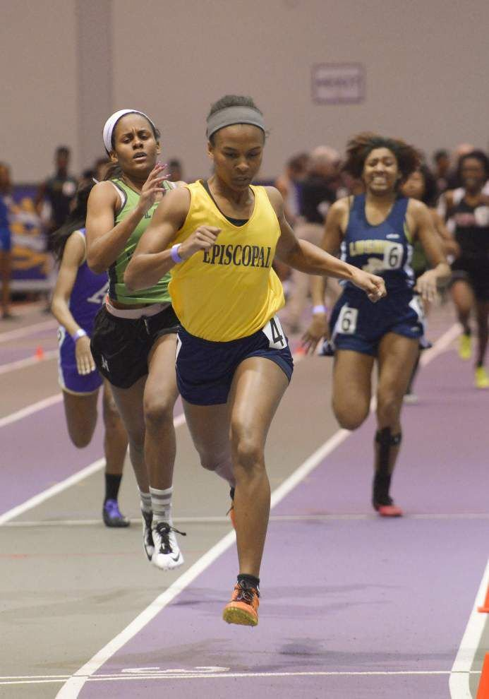 Catholic boys, Zachary, Episcopal girls reign supreme in state indoor track meet _lowres