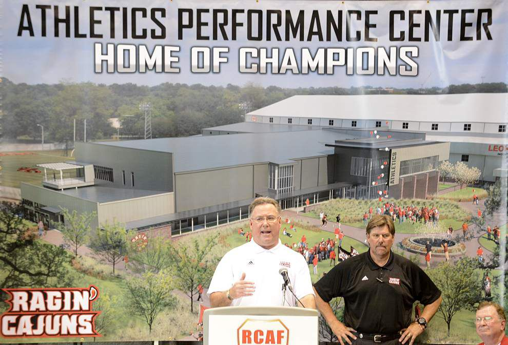 State-of-the-art athletic training complex gives Cajuns instant competitive edge _lowres