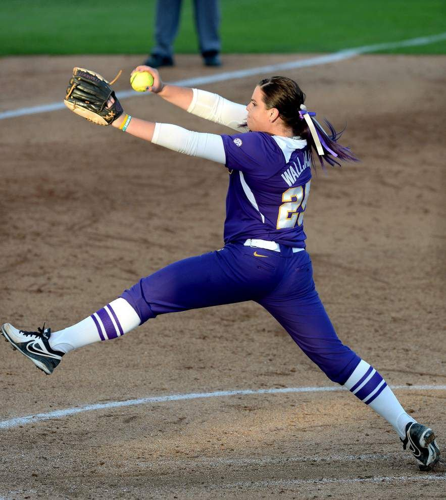 LSU softball team beats Southeastern 11-0 in 5 innings _lowres