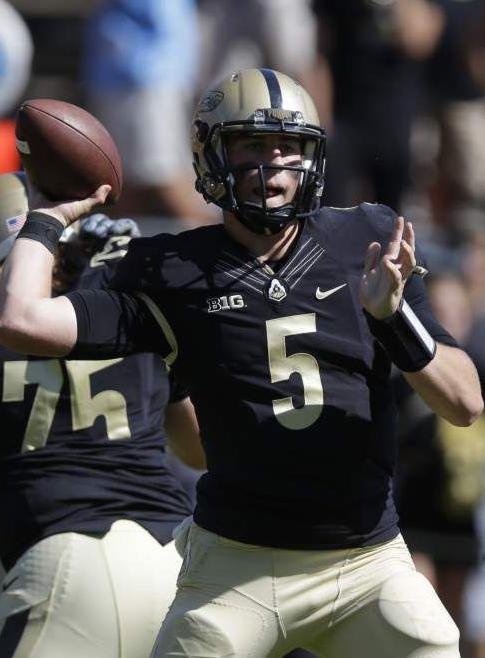 Former Purdue quarterback Danny Etling transferring to LSU _lowres