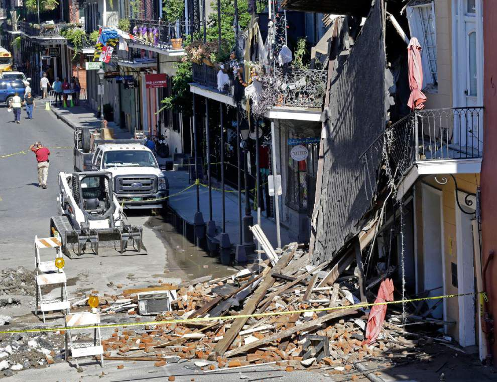 After collapse on Royal Street, expert 'very concerned' about other French Quarter buildings _lowres