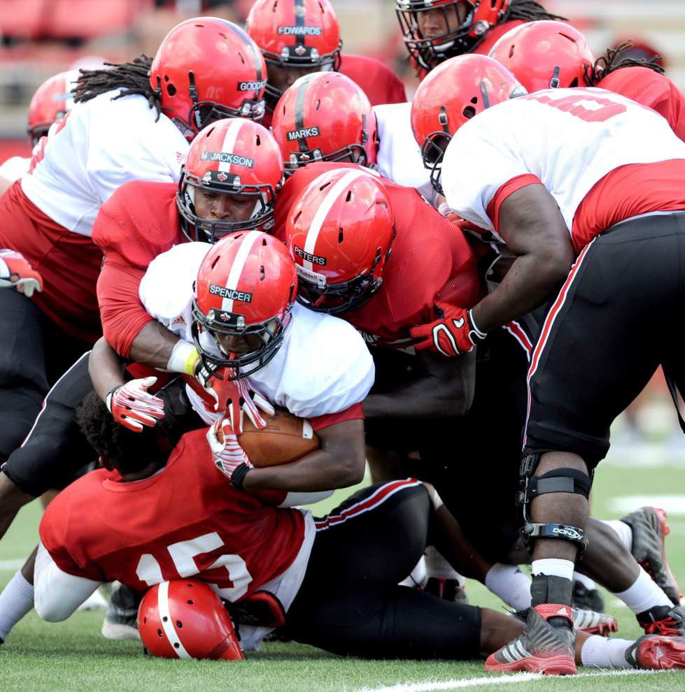 Cajuns in good shape as they turn toward game preparation _lowres