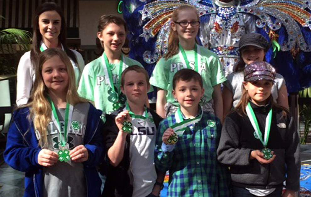 Jefferson Parish 4-H Commodity Cookery Contest winners named _lowres