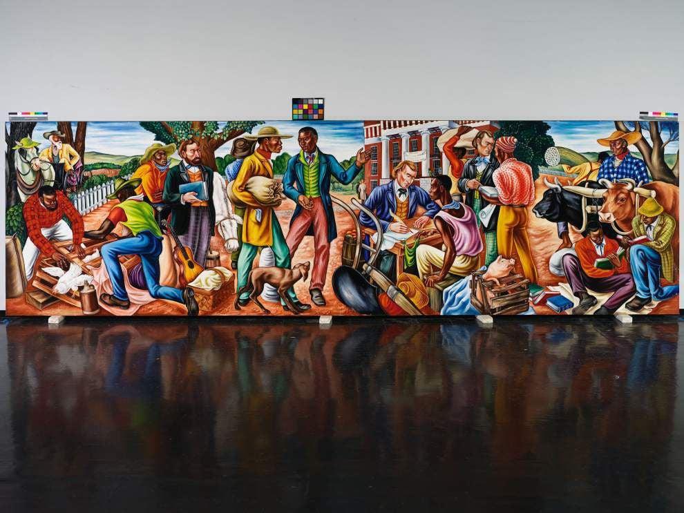 Social Realist murals bring history to life at NOMA _lowres