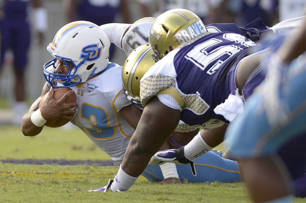 Alcorn State 56, Southern 16: Three-and-out _lowres