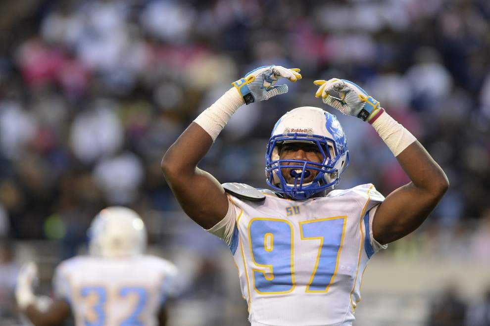 More sacks by Southern defense has led to win streak _lowres
