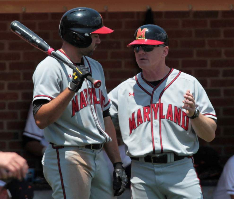 Ex-Cajuns assistant leads Maryland by Virginia in super regional opener _lowres