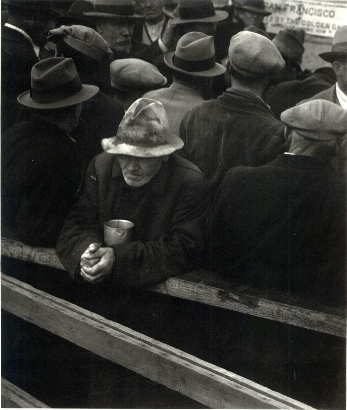 Dorothea Lange's photograph, 'White Angel Breadline,' is part of ...