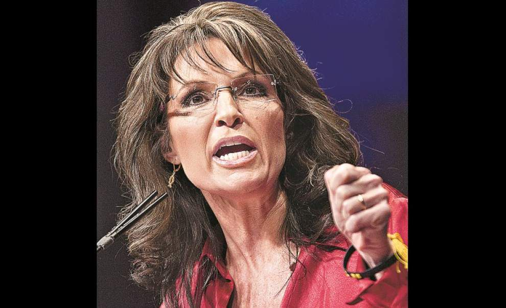 Palin to visit La. for GOP Senate candidate Maness _lowres