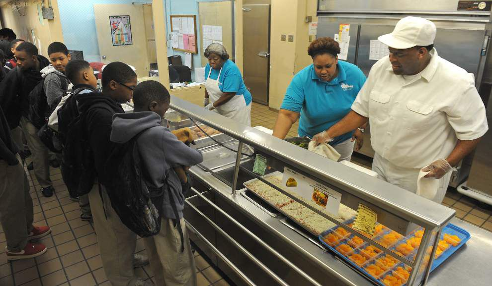 New federal program offers free lunches to all students in qualifying school districts; Baton Rouge is on board, but others 'wait and see' _lowres