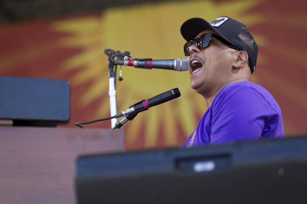 Musical friends help NO's WWOZ celebrate its birthday at Tip's _lowres