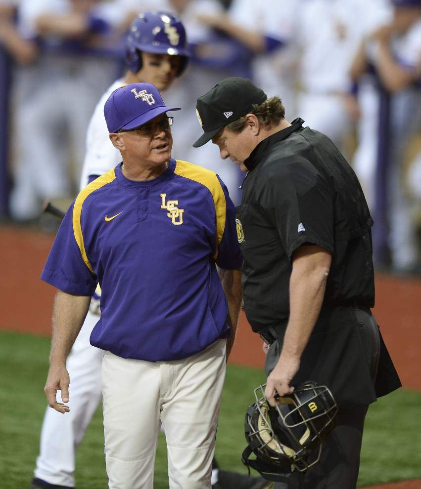 SEC testing instant replay in baseball tournament _lowres