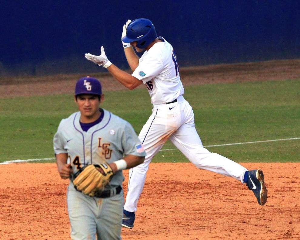 LSU baseball swept at Florida _lowres