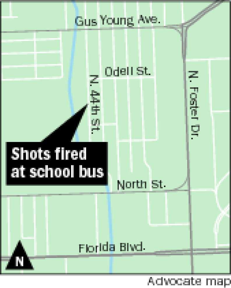 BR boy now in custody in school bus shooting _lowres