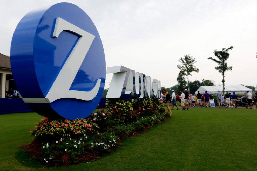 Jason Day, Erik Compton share lead at rain-ravaged Zurich Classic _lowres
