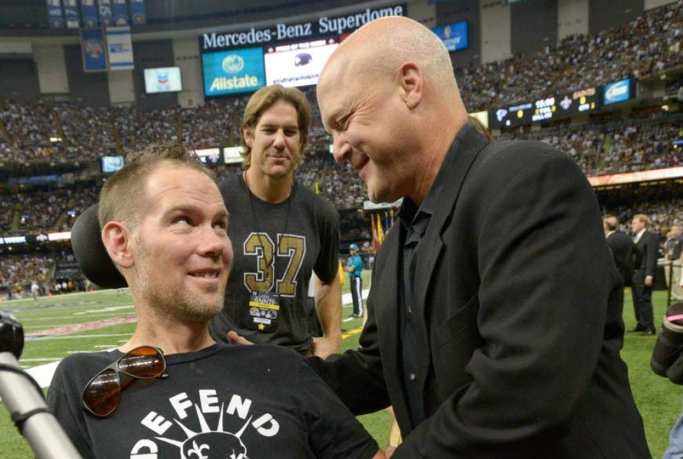 Tracheotomy to aid Steve Gleason's breathing _lowres