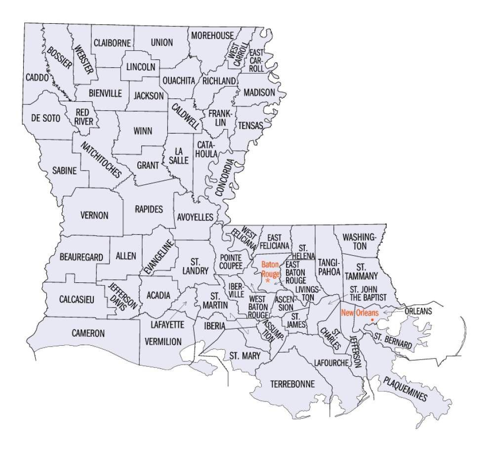 Census shows EBR's growth concentrated outside city limits _lowres