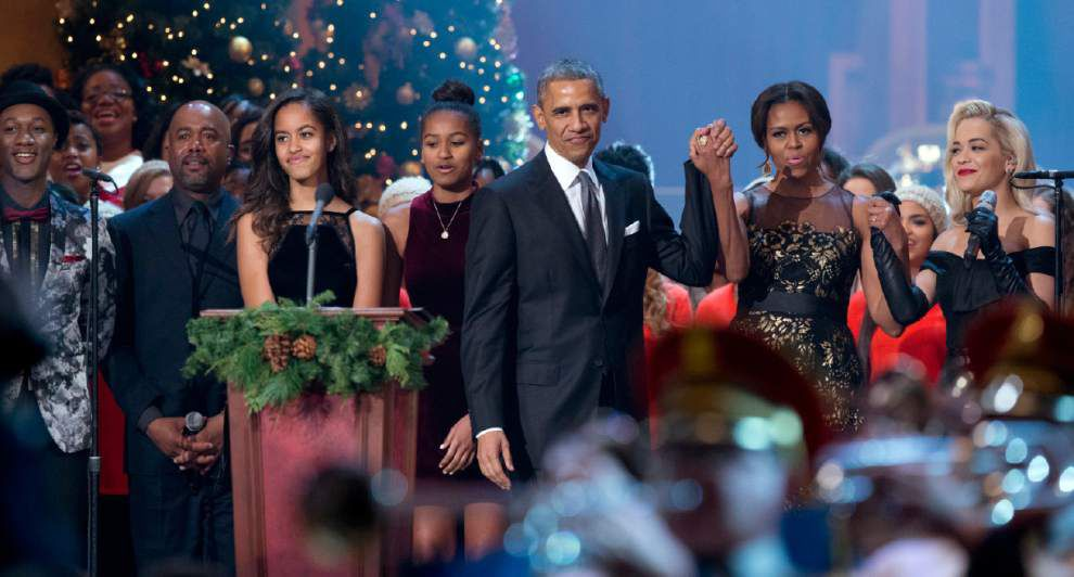 Obama on race: I've been mistaken for valet driver; first lady Michelle once asked to assist Target customer _lowres