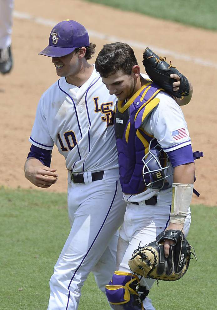 Nola shines in opening win; Tigers, Tide split after long delay _lowres