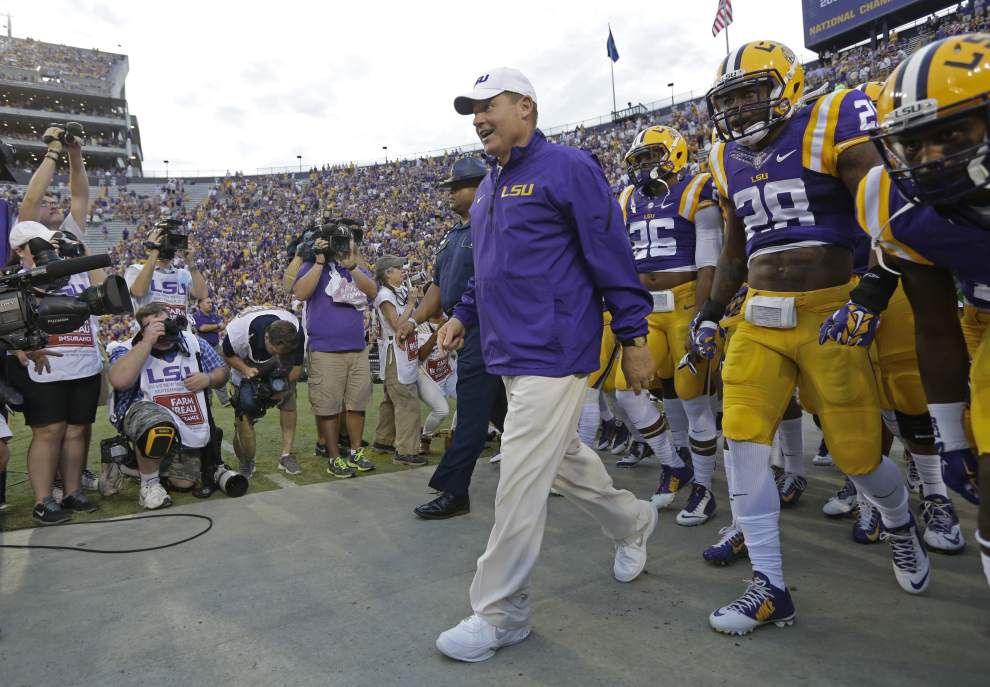 Brandon Harris to start at quarterback for LSU against Auburn _lowres