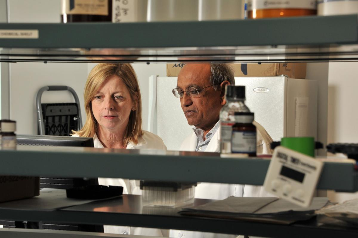 Two of the company founders in the lab, Dr Sudhir Sinha &.jpeg