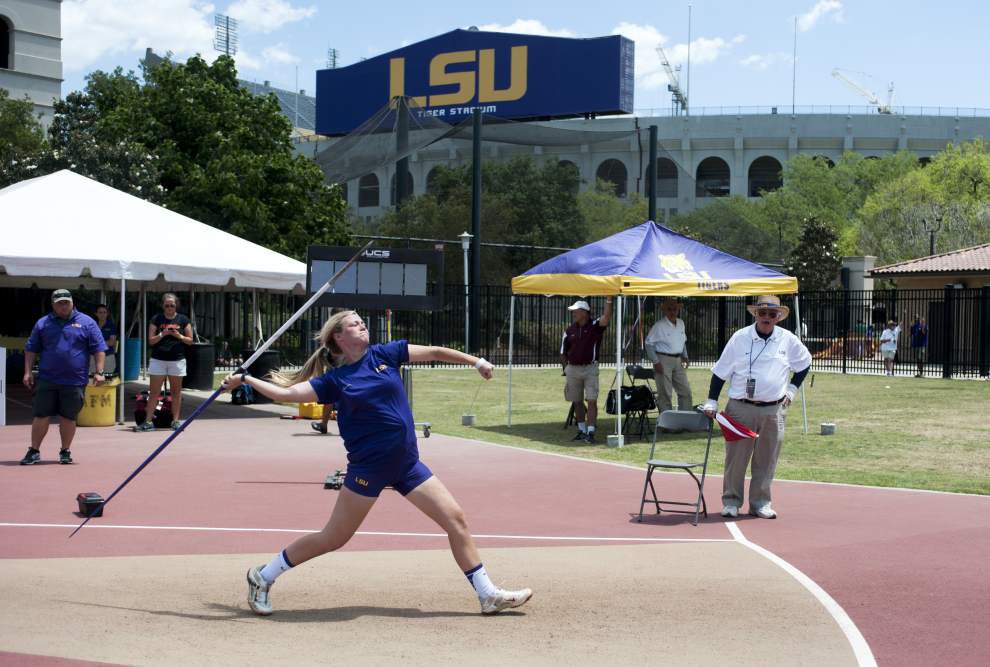 LSU indoor track season begins at home _lowres