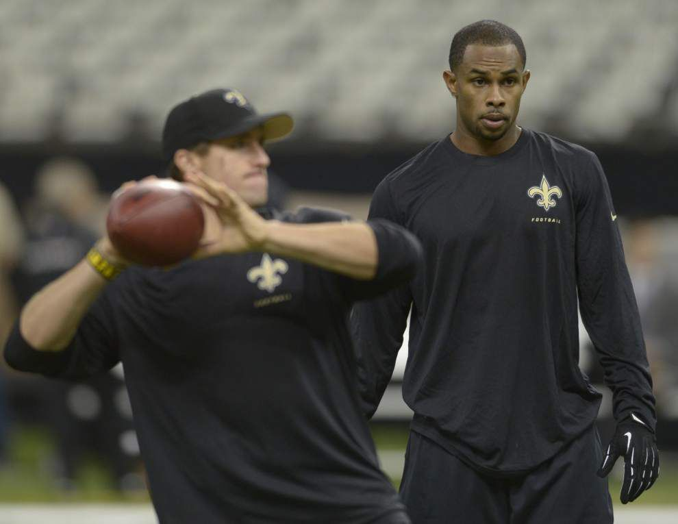 Saints wide receiver Robert Meachem happy to be back on 53-man roster _lowres