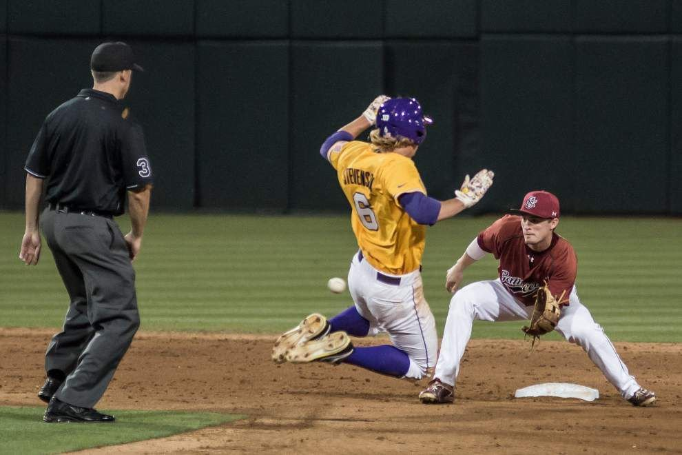 Championship worthy: LSU secures SEC title, then caps memorable regular season with rubber match rout of South Carolina _lowres
