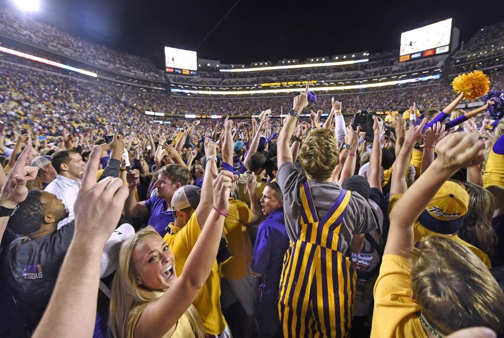 Times of interest for Alabama vs. LSU: Tigers' walk down Victory Hill, band's pregame performance, more _lowres