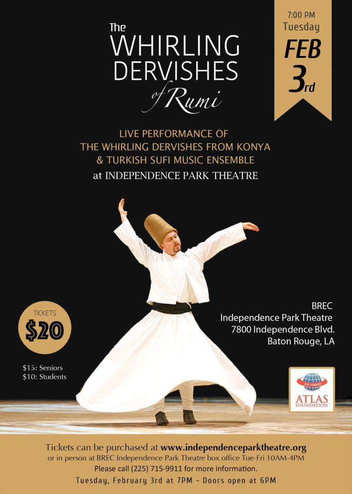 Whirling Dervishes spin into BR, N.O. _lowres