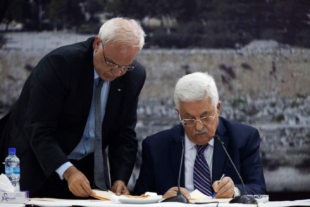Palestinians: We don't want Kerry mission to fail _lowres