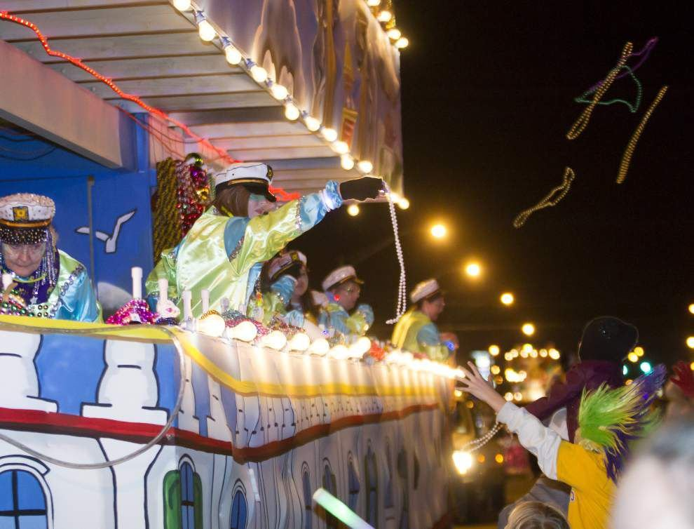 Photos: Krewe of Selene wows crowd with colorful costumes, beads _lowres