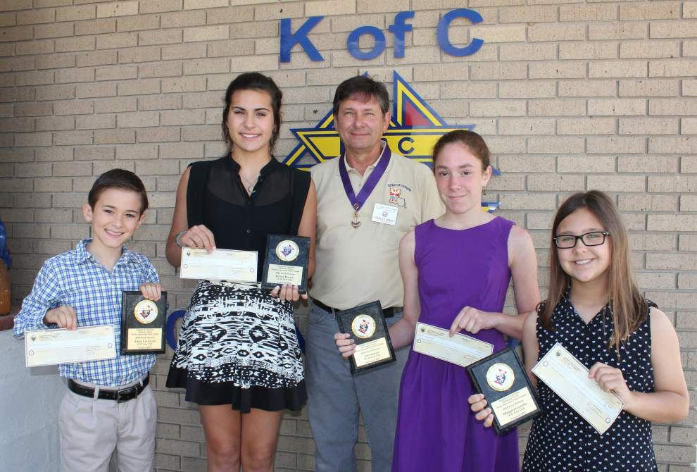 St. Theresa students place in state contest _lowres