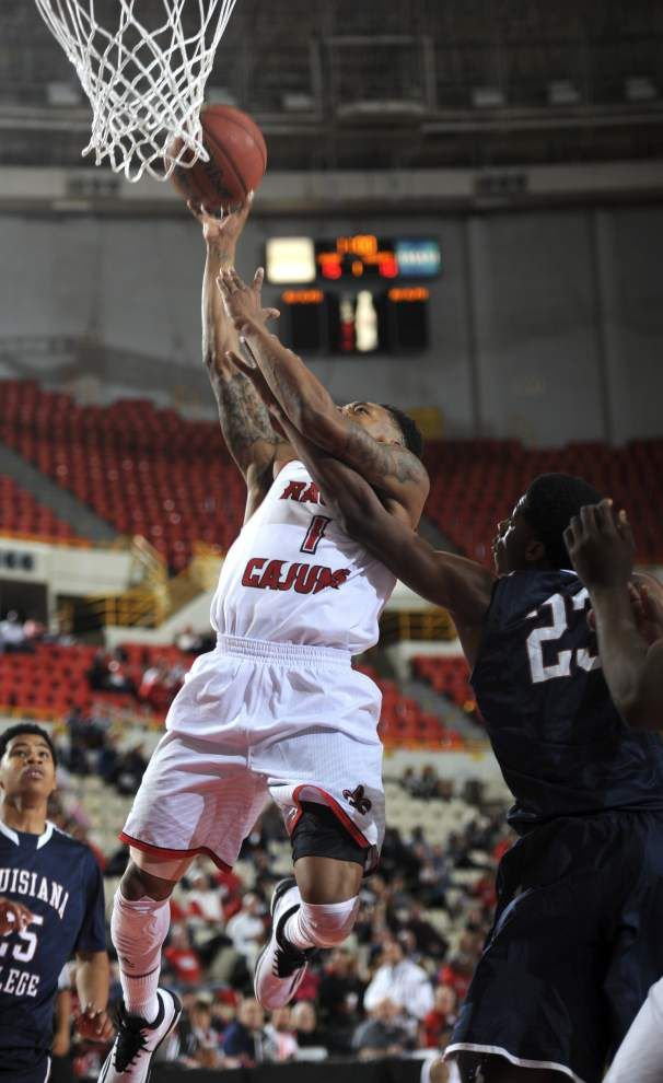Sloppy at times, but Cajuns basketball team tops Louisiana College in season opener _lowres
