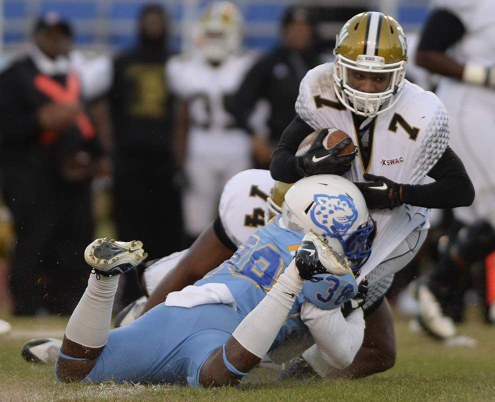Southern defense slows down Alabama State rushing game in second half _lowres