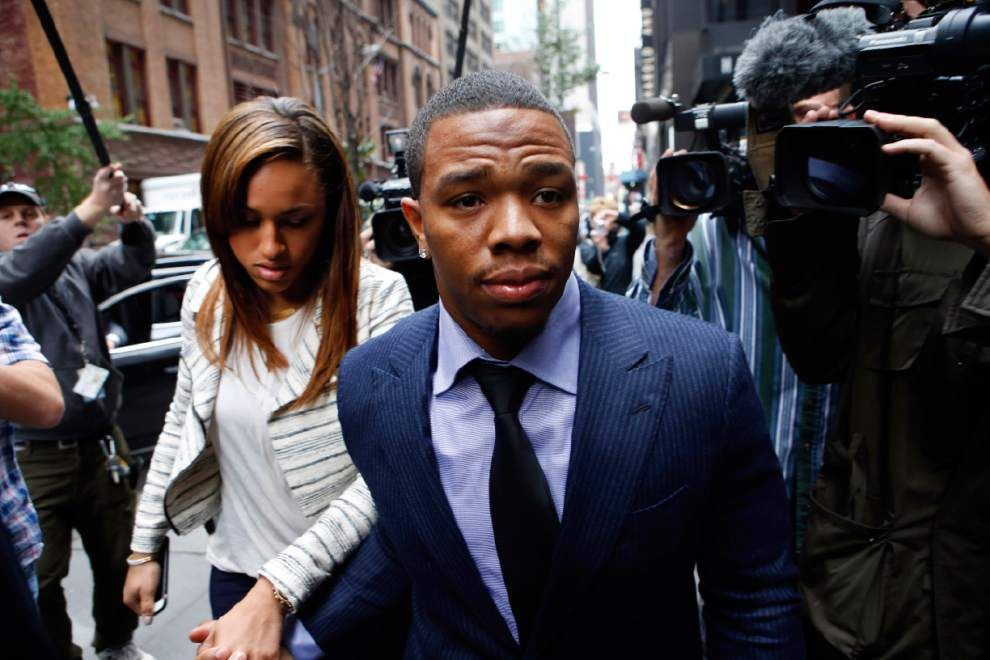 Report: The New Orleans Saints have shown interest in former Baltimore Ravens running back Ray Rice _lowres