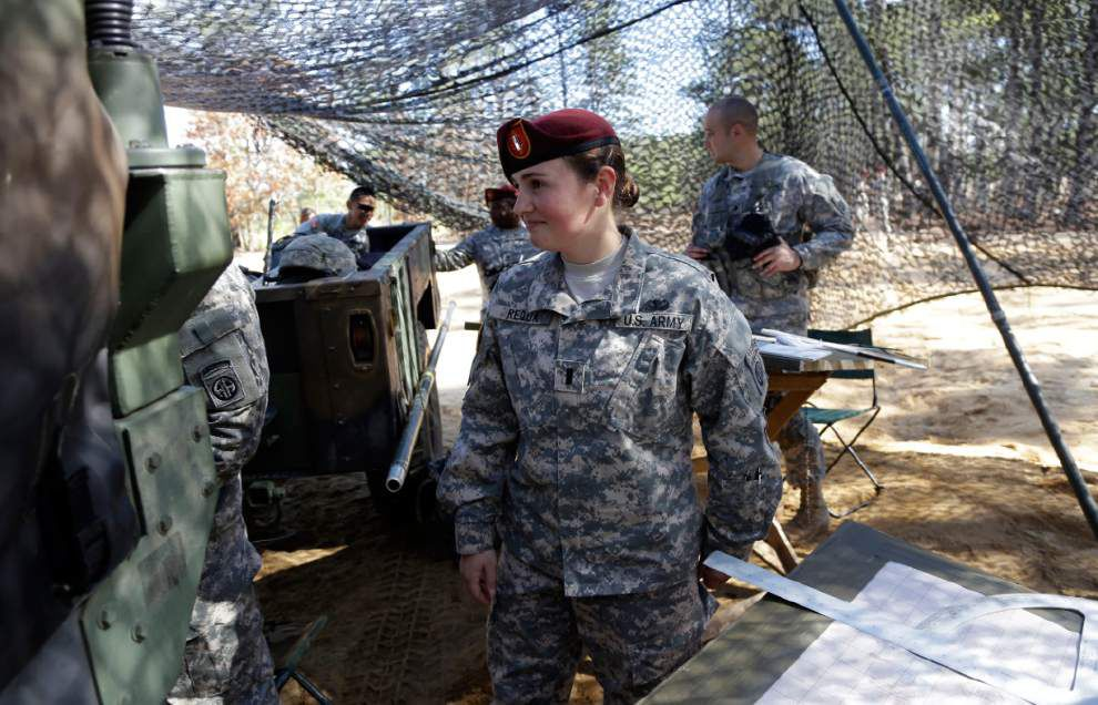 First women move to Army platoon artillery jobs _lowres