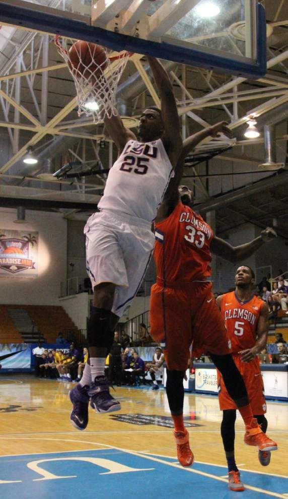 LSU men fall to Clemson 64-61 in fourth-place game at Paradise Jam _lowres