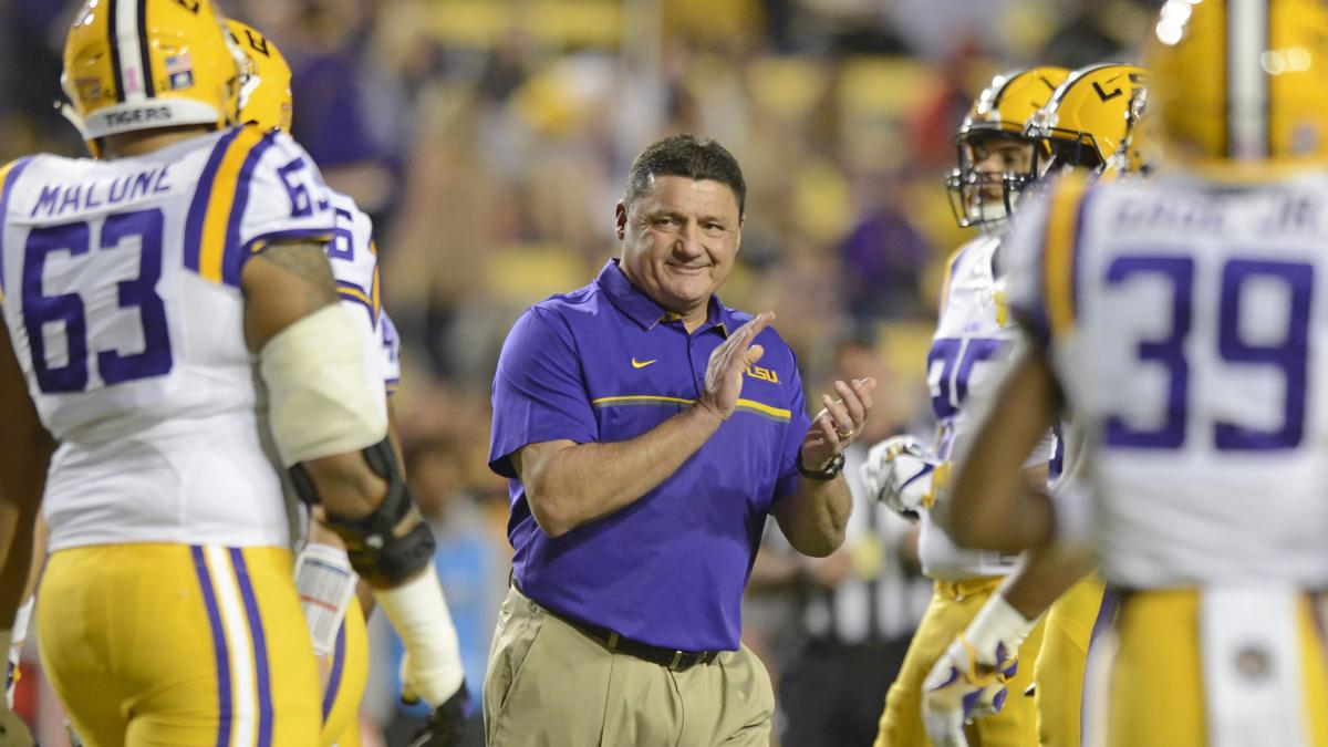 Live updates: Ed Orgeron, Dell Demps speaking at New Orleans Quarterback Club