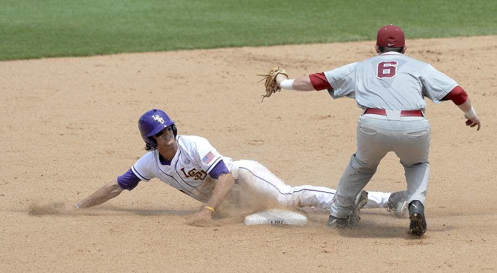 LSU baseball pregame: Alabama at LSU _lowres