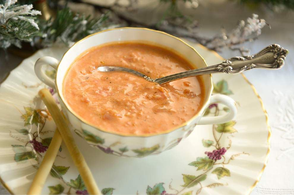 Gourmet Galley: Smoky tomato soup warms from inside out _lowres